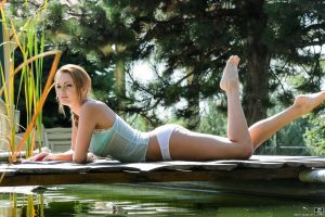 Emily Thorne in HARDWOOD DOCK FUN with Toby 1